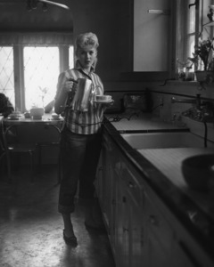 Connie Stevens in kitchen of her housecirca 1959Photo by Joe Shere - Image 0658_0114