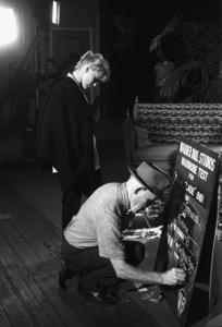 "Connie Stevens during a wardrobe test for the film ""Susan Slade""1960© 1978 David Sutton - Image 0658_0127"