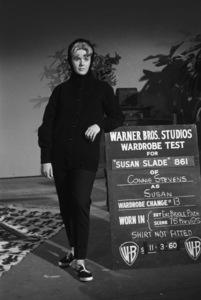 "Connie Stevens during a wardrobe test for the film ""Susan Slade""1960© 1978 David Sutton - Image 0658_0128"