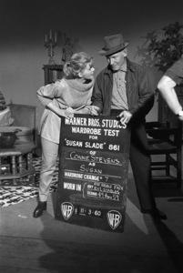"Connie Stevens during a wardrobe test for the film ""Susan Slade""1960© 1978 David Sutton - Image 0658_0130"