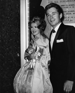 """Connie Stevens and date Gary Clarke at """"Spartacus"""" premiere1960Photo by Joe Shere - Image 0658_0141"""