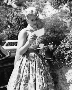 Connie Stevens at homecirca 1960s - Image 0658_0162