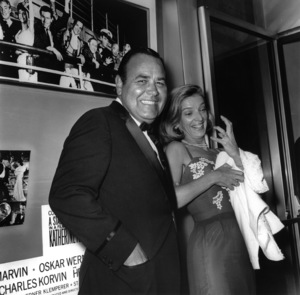 Jonathan Winters and wife Eileen Schauder1965Photo by Joe Shere - Image 0663_1013