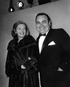 Jonathan Winters and wife Eileen Schauder1965Photo by Joe Shere - Image 0663_1014