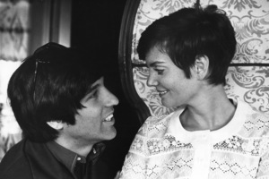 Lesley Ann Warren with Jon Peterscirca 1968 © 1978 Gunther - Image 0665_0009