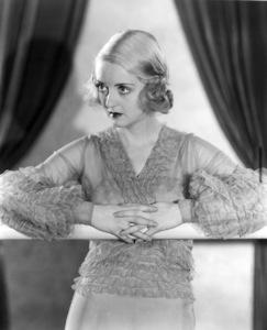 Bette Davis, c. 1932. - Image 0701_0051