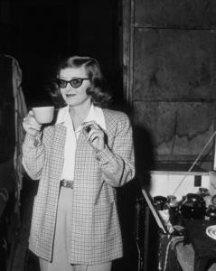 Bette Davis taking a coffee breakC. 1940  - Image 0701_0058