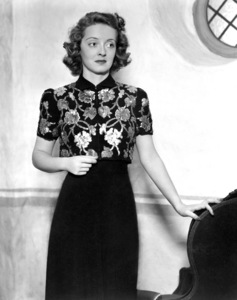 "Bette Davis, 1939.Publicity shot fo ""Dark Victory""Photo by Scotty Welbourne. - Image 0701_0364"
