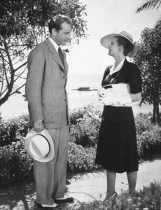 "Paul Heinreid, Bette Davis""Now Voyager"" 1942.Photo by Bert Six - Image 0701_0674"