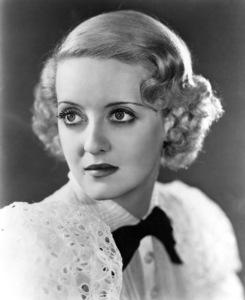 Bette Davis, c. 1934. - Image 0701_0811