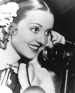 "Bette Davis behind the scenesof ""Jezebel,"" 1931. - Image 0701_1303"