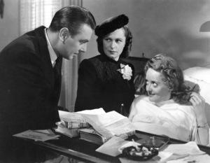"""""""Dark Victory"""" 1939.George Brent, Geraldine Fitzgerald, Bette Davis - Image 0701_1334"""
