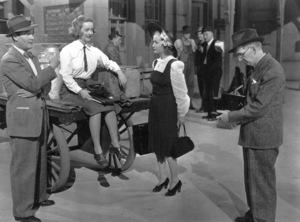 "Roscoe Karns, Bette Davis, Miriam Hopkins""Old Acquaintance"" 1943. - Image 0701_1342"