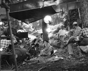 """Bette Davis, Joseph Cottenduring the making of """"Beyond The Forest,"""" 1949.Photo by Bert Six - Image 0701_1343"""