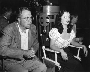 "Bette Davis, Dir. King VidorBehind The Scenes of ""Beyond The Forest,"" 1949. - Image 0701_1346"