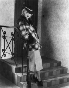 "Bette Davis ""King Of Fashion""1934 / WarnerCostume Designed by Orry KellyPhoto by Elmer Fryer - Image 0701_2128"