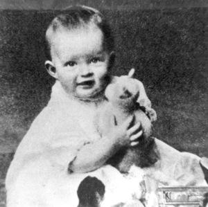 Bette Davis, c. 1908.**R.C. - Image 0701_2175