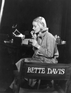 """Bette Davis on the set of""""Fashions of 1934""""1934 / **R.C. - Image 0701_2181"""