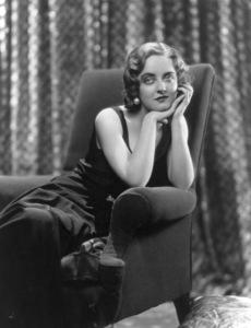 Bette Davis, c. 1930.**R.C. - Image 0701_2188