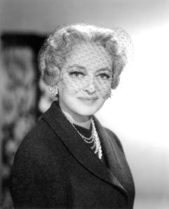 "Bette Davis publicity photo for""Where Love Has Gone,"" 1964.Photo by Mal Bulloch / **J.S. - Image 0701_2210"