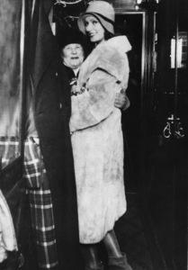 Greta Garbo with her mother in Sweden circa 1928** I.V. - Image 0702_5110