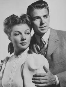 "Ronald Reagan and Ann Sheridanin ""Juke Girl""1942 Warner Bros.Photo by Madison LacyMPTV - Image 0703_0659"