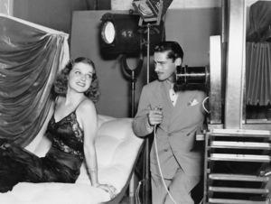 Ann Sheridan having a glamour portrait taken by one of the studios ace still men, Scotty Welbourne1939 - Image 0703_0832