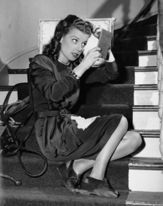 """Ann Sheridan on the set of """"The Unfaithful"""" at Warner Brothers1947Photo by Floyd McCarty - Image 0703_0836"""