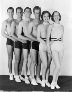 """""""Search for Beauty""""  Ann Sheridan (second from right)1934 Paramount Pictures** I.V. - Image 0703_0838"""