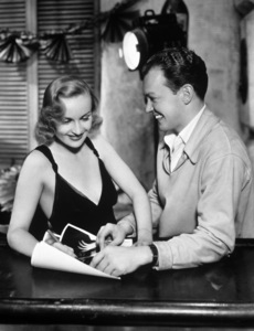 Carole Lombard and photographer John Engsteadcirca 1933Photo by Sterling Trevor - Image 0705_0716