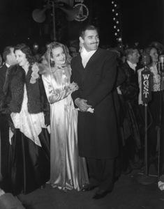 Carole Lombard and Clark Gablecirca 1935** I.V. - Image 0705_2244
