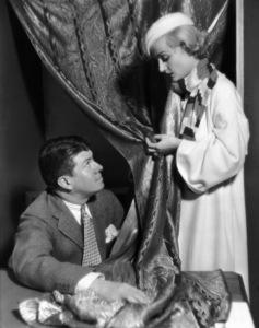 Carole Lombard with designer Travis Bantoncirca 1930s** I.V. - Image 0705_2269
