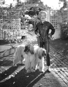 Marlene Dietrich at home, c. 1955. - Image 0709_0020