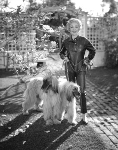 Marlene Dietrich at home, c. 1955. - Image 0709_0020