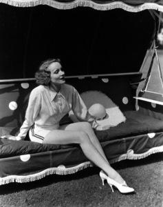 Marlene Dietrich at home, 1936.**R.C. - Image 0709_0038