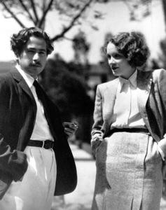 Marlene Dietrich and Josef von Sternberg circa 1930 ** R.C. - Image 0709_1069