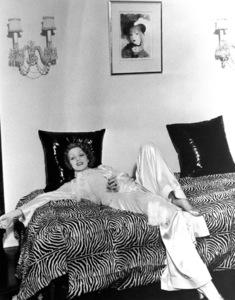 Marlene Dietrich at home, c. 1932.**R.C. - Image 0709_1073