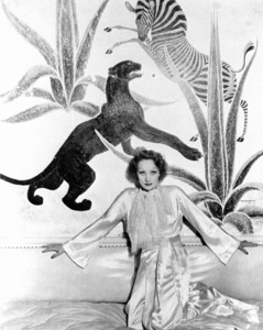Marlene Dietrich at home, c. 1932.**R.C. - Image 0709_1075