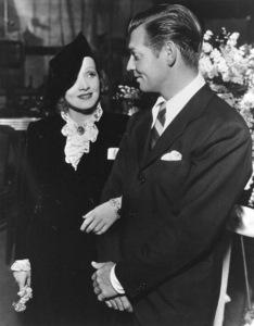 Marlene Dietrich with Clark Gable,c. 1932.**R.C. - Image 0709_1094