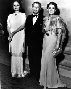 Marlene Dietrich, Max Reinhardt, Norma Shearer.c. 1930.**R.C. - Image 0709_1906
