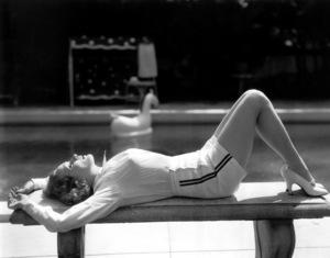 Marlene Dietrich at home September 25, 1935 **I.V. - Image 0709_1935