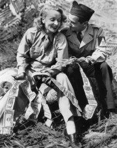 Marlene Dietrich& Irving Berlin in EuropeMay 29, 1944**I.V. - Image 0709_1947