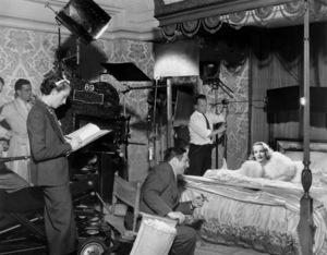 """Marlene Dietrich with Ernst Lubitsch""""Angel""""Paramount 1937**I.V. - Image 0709_1957"""