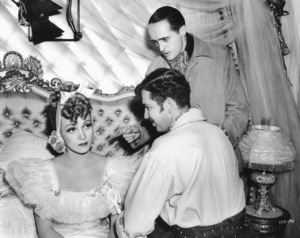 """Marlene Dietrich with Dir. Rene Clair, Bruce Cabot""""Flame of New Orleans""""Universal 1941**I.V. - Image 0709_1958"""