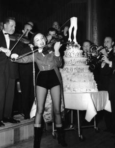Marlene Dietrich celebrates her birthday at the Sahara Hotel in Las Vegas1954**I.V. - Image 0709_1961