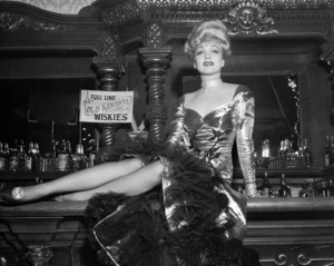 """Marlene Dietrich in """"The Spoilers""""1942 Universal** I.V / M.T. - Image 0709_2004"""
