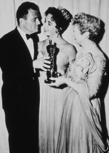 Elizabeth Taylor and Mike Todd at the Academy Awards ceremony1957**R.C.MPTV - Image 0712_0074
