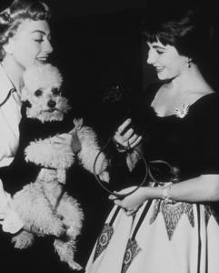 Elizabeth Taylor with Joan CrawfordC. 1953MPTV - Image 0712_0080