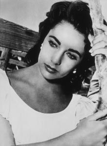 "Elizabeth Taylor during the filming of ""Giant""1955 Warner**R.C.MPTV - Image 0712_0113"