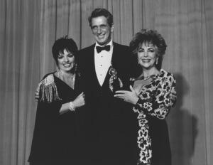 Liza Minnelli, Rock Hudson and Elizabeth Taylor1985**R.C. - Image 0712_0119